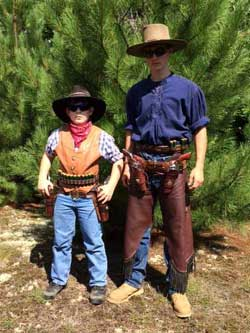 Tommy Two Spurs and Zachoria Spurs at VT State Championships.